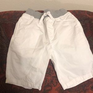 Gymboree TWO white shorts in immaculate condition